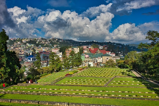 Kohima War Cemetery in Seven Sisters of India