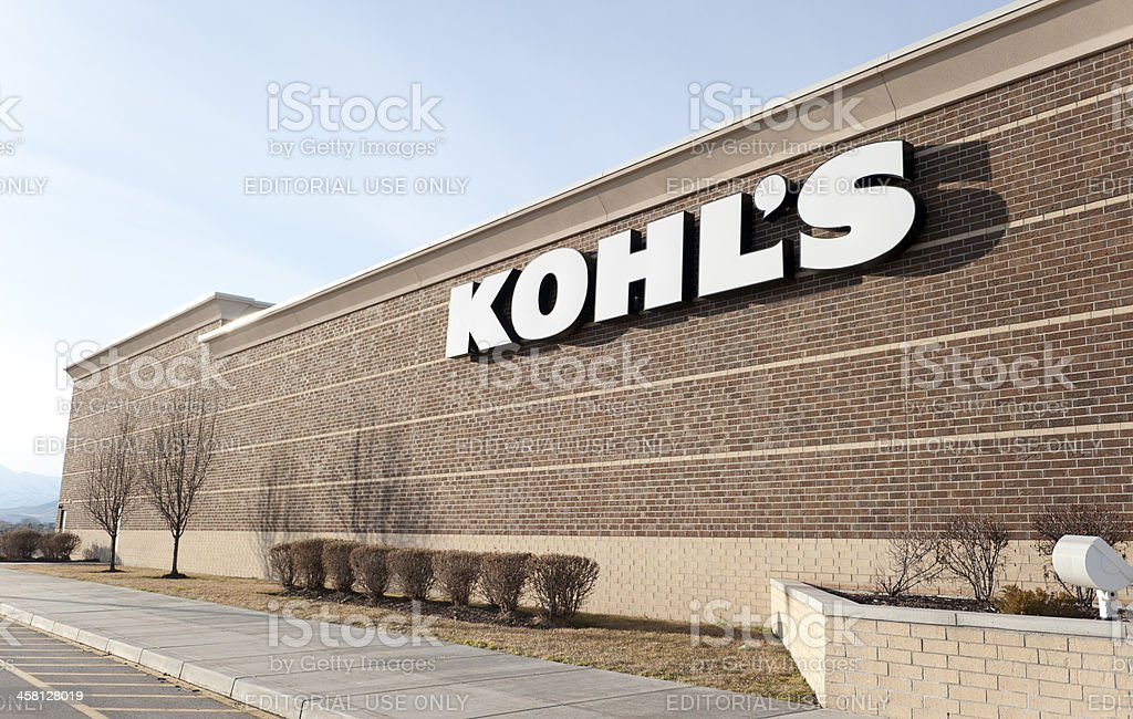 Kohl's department store royalty-free stock photo