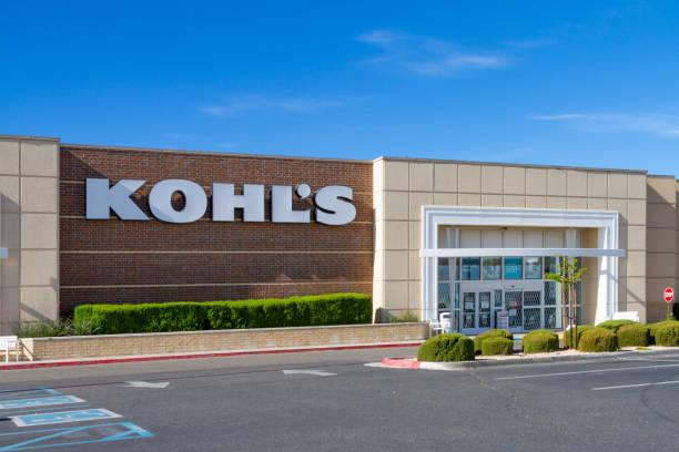 Kohl's location in Victorville, California stock photo