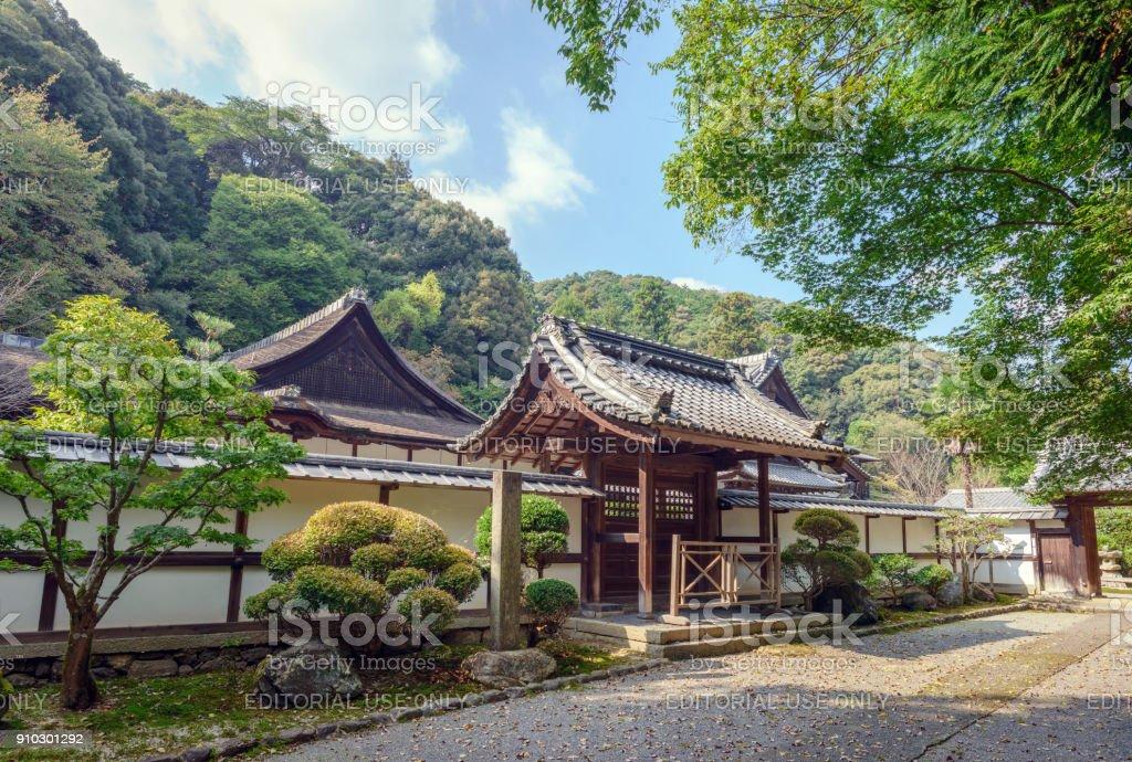 Garden Life Style Uden.Kojoin Kyakuden Of The Mii Dera Temple Stock Photo