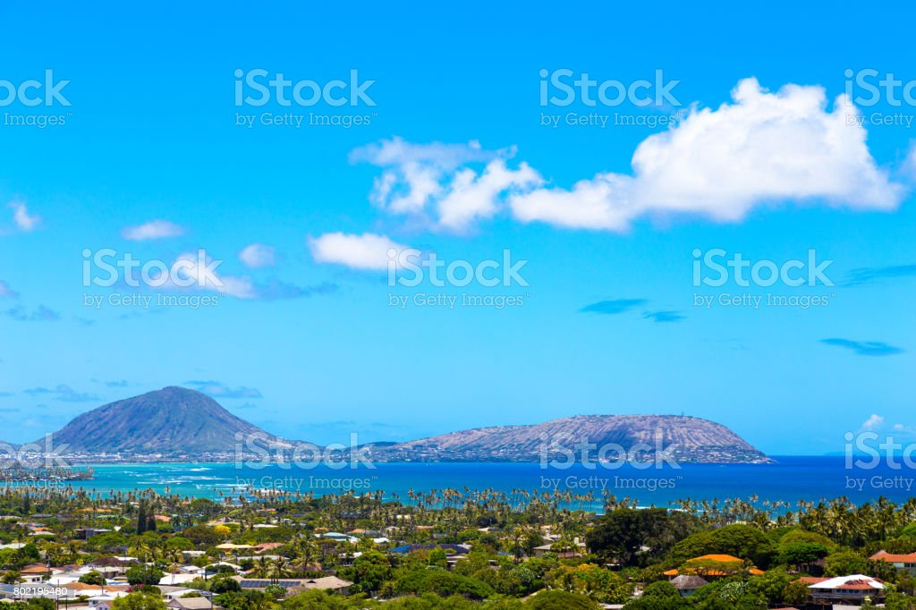 Koko Head stock photo