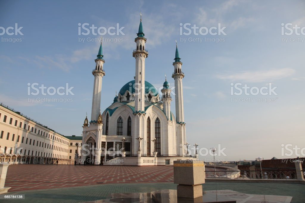 Kol Sharif Mosque in Kazan, Russia royalty-free stock photo