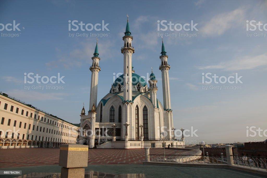 Kol Sharif Mosque in Kazan, Russia royalty-free stock photo