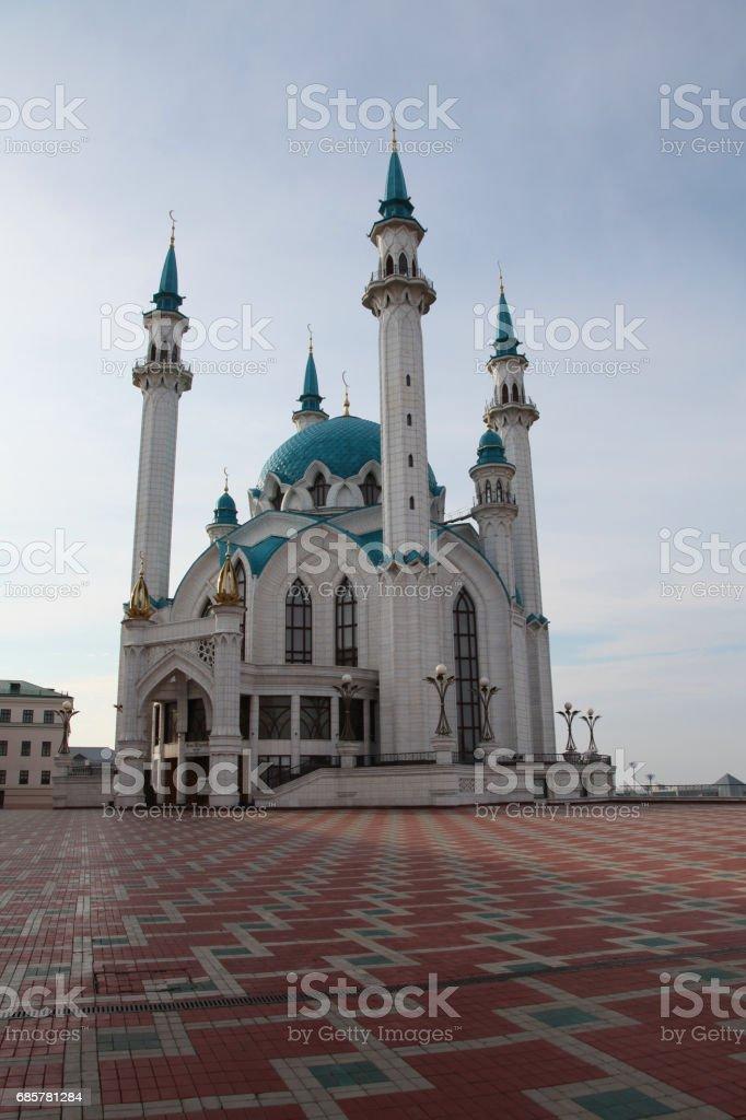 Kol Sharif Mosque in Kazan, Tatarstan republic. Russia royalty-free stock photo