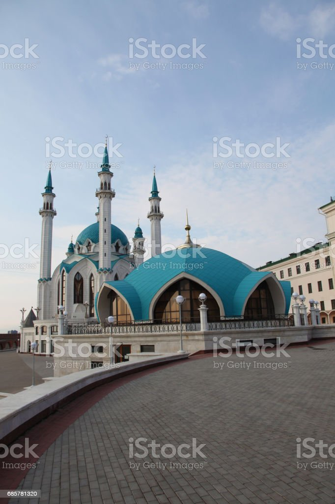 Kol Sharif Mosque in Kazan, Tatarstan republic. Russia royalty-free stock photo