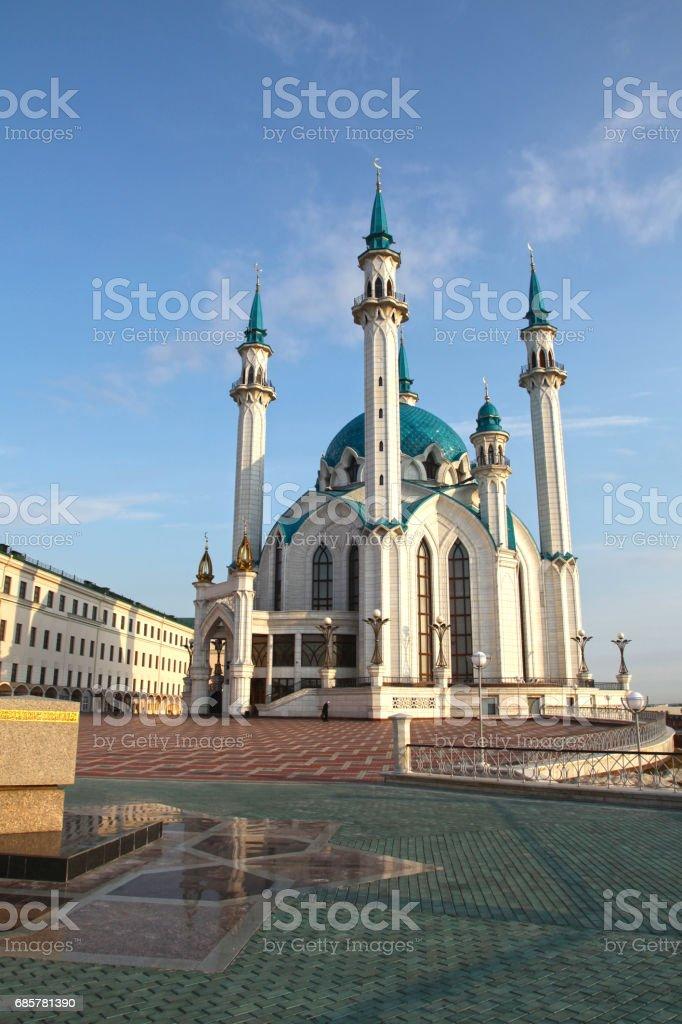 Kol Sharif Mosque in Kazan, Tatarstan republic. Russia Lizenzfreies stock-foto