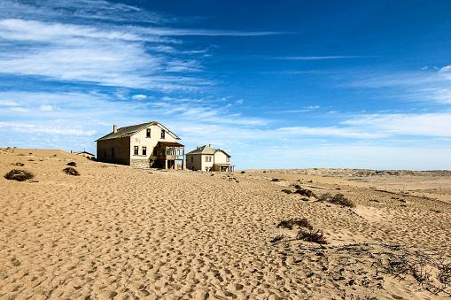 Kolmanskop Is A Ghost Town In The Namib Desert In Southern ...