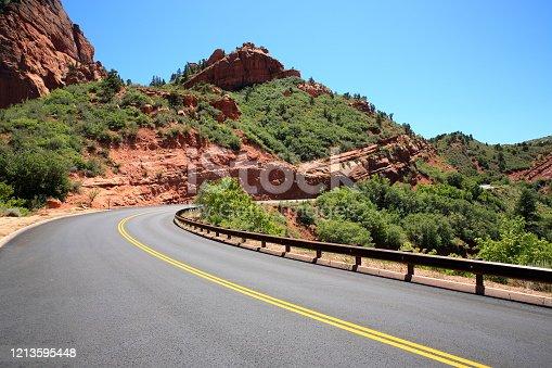 Kolob Canyons Utah State, USA