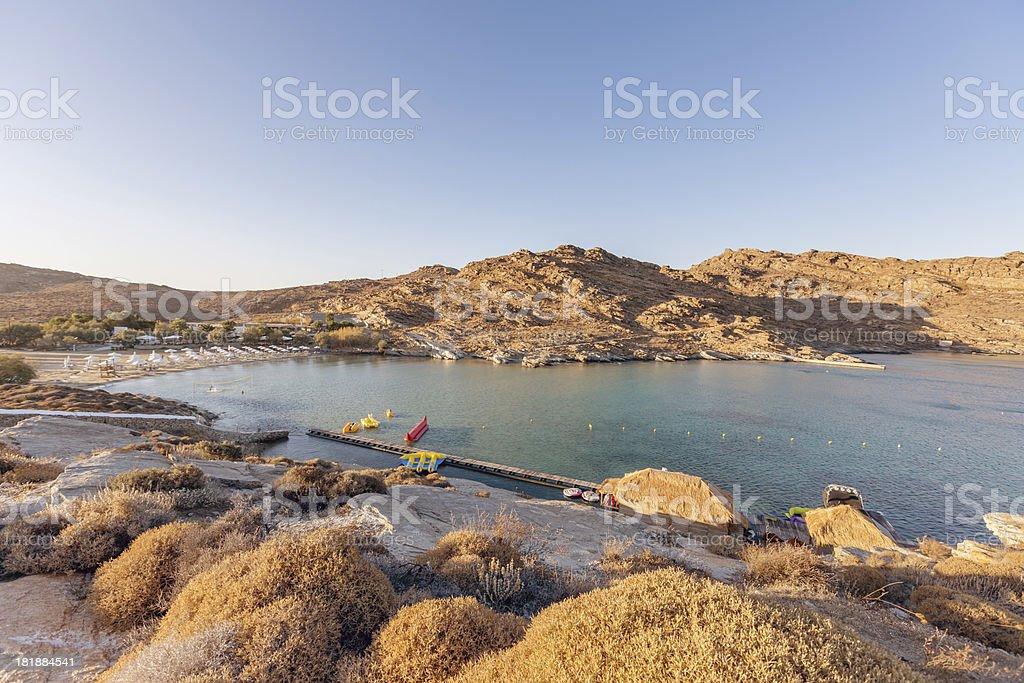 Kolymbithres Beach Paros Island, Greece royalty-free stock photo