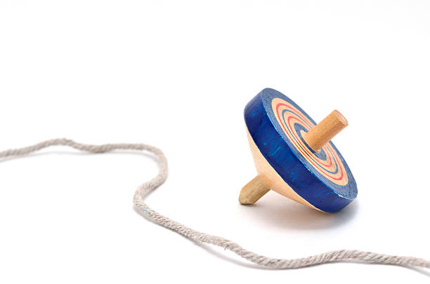 Koma (spinning top). stock photo