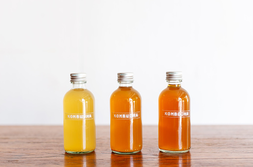 Kombucha healthy probiotic drink
