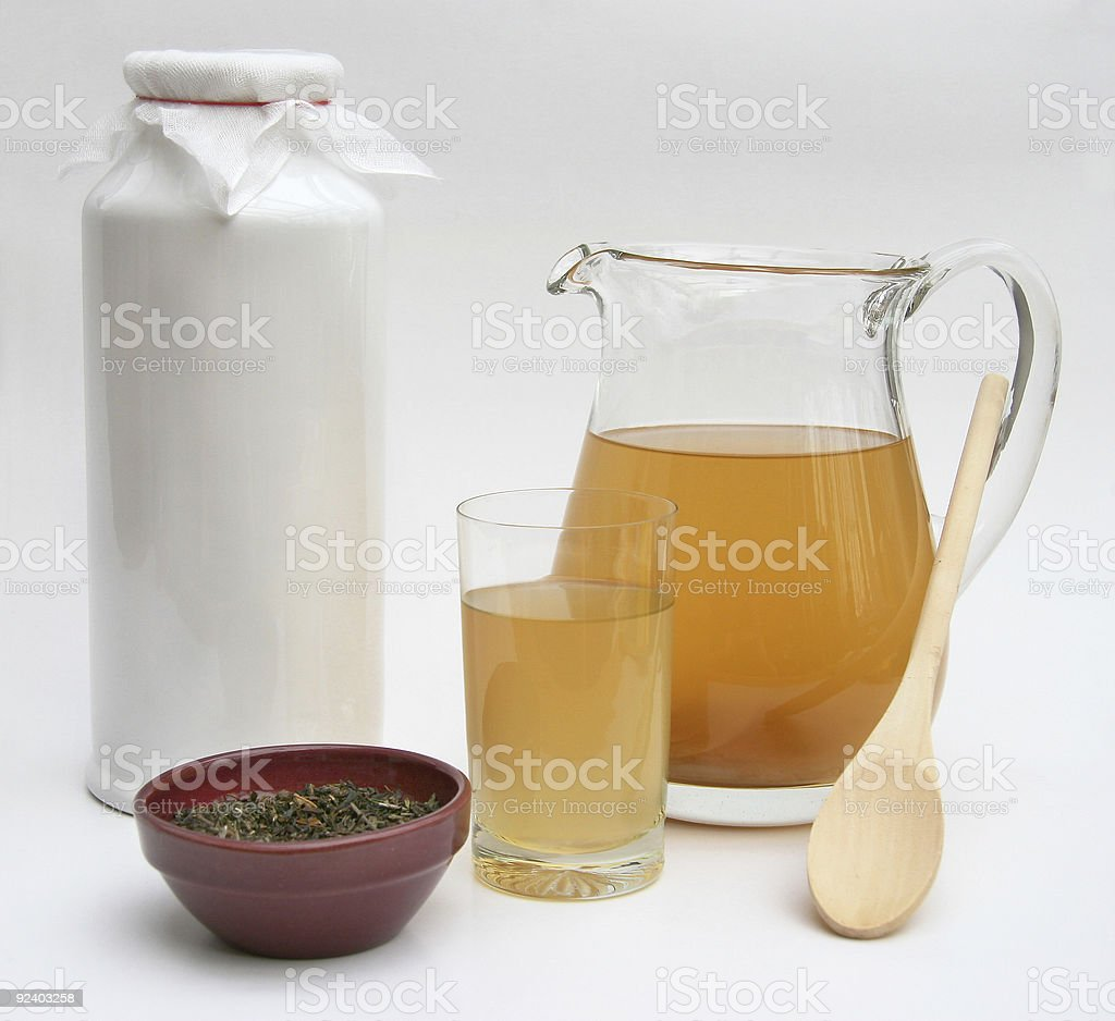 Kombucha Tea stock photo