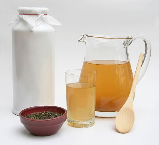 Kombucha Tea stock photo