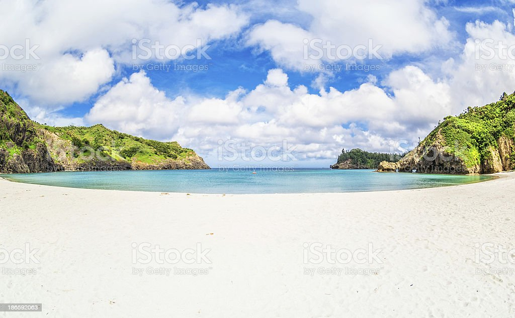 Kominato Beach - Ogasawara Islands royalty-free stock photo