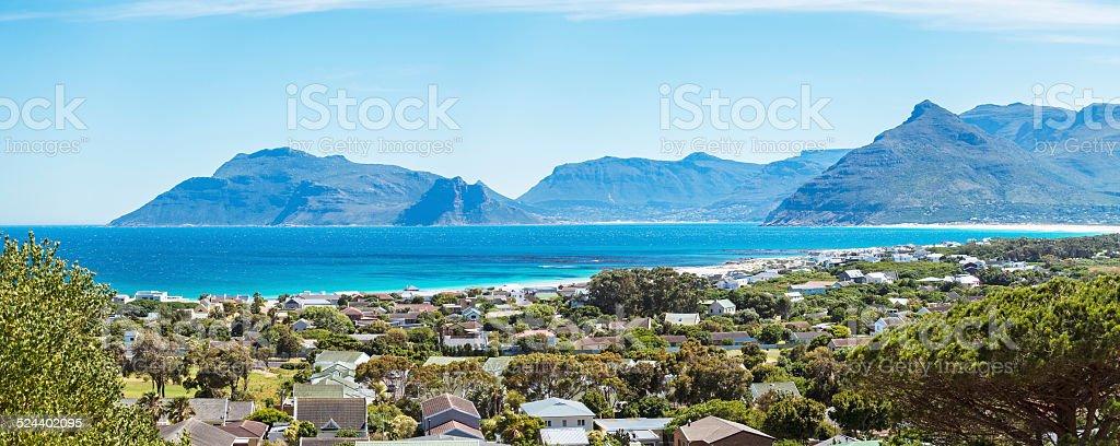 Kommetjie view in Cape Town stock photo