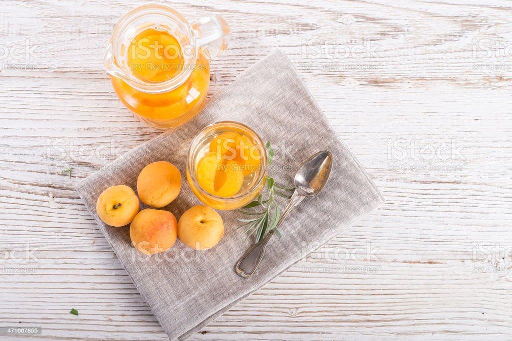 Kompot  - Fruit cocktail royalty-free stock photo