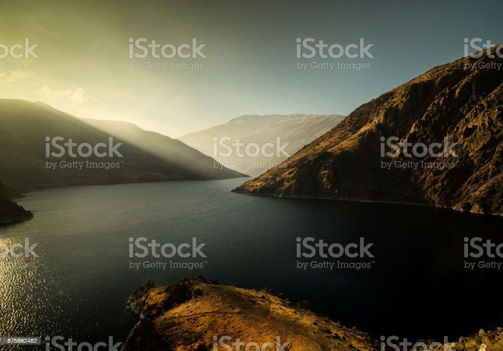 Komurhan Dam stock photo