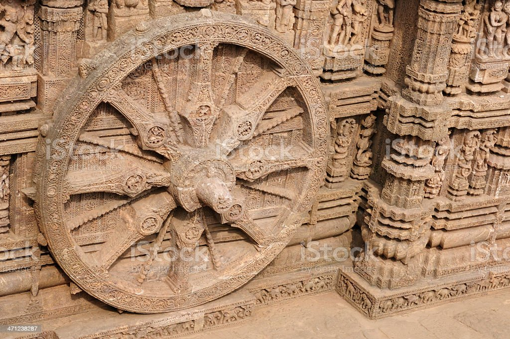 Konarak Temple royalty-free stock photo