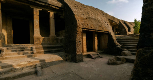 Kondivite,or Mahakali Caves are a group of 19 rock-cut monuments built between 1st century BCE and 6th century CE.