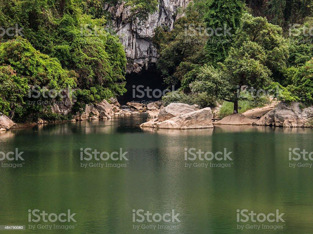 Konglor Cave, Konglor, Laos stock photo