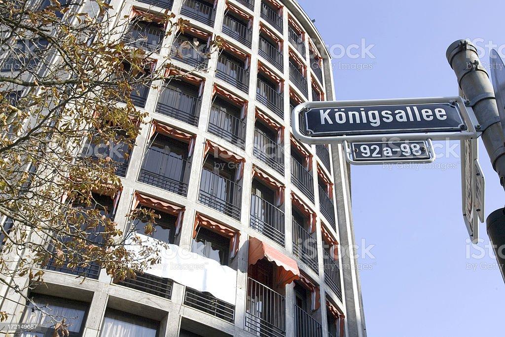 Konigsalle stock photo
