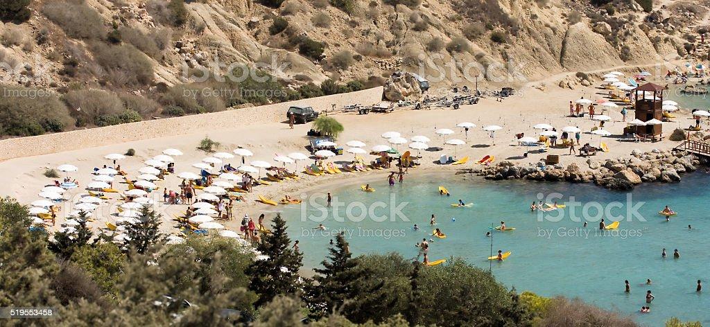 konnos beach stock photo