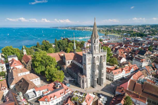 konstanzer münster, konstanz, bodensee, tyskland - katedral bildbanksfoton och bilder