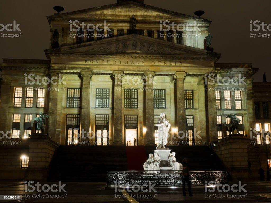 Konzerthaus am Gendarmenmarkt stock photo