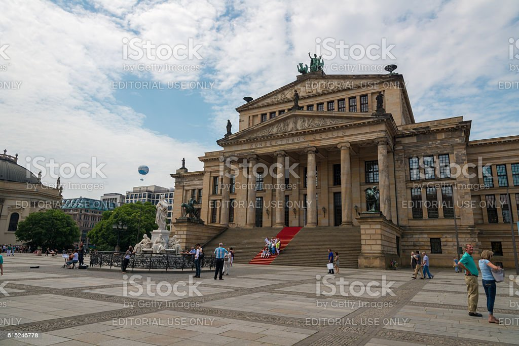 Konzerthaus at Gendarmenmarkt in Berlin, Germany stock photo