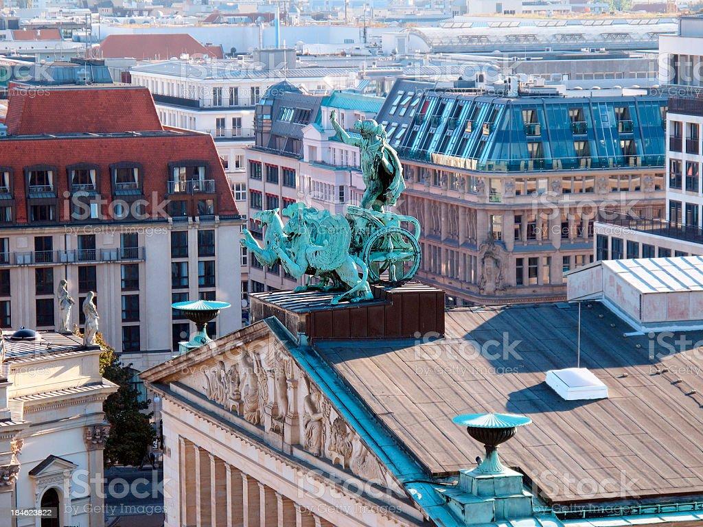 Konzerthaus Berlin is a concert hall at Gendarmenmarkt (Germany) royalty-free stock photo