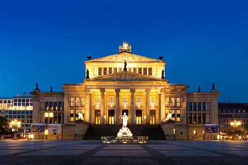 Konzerthaus in Gendarmenmarkt, a famous square in Berlin, German