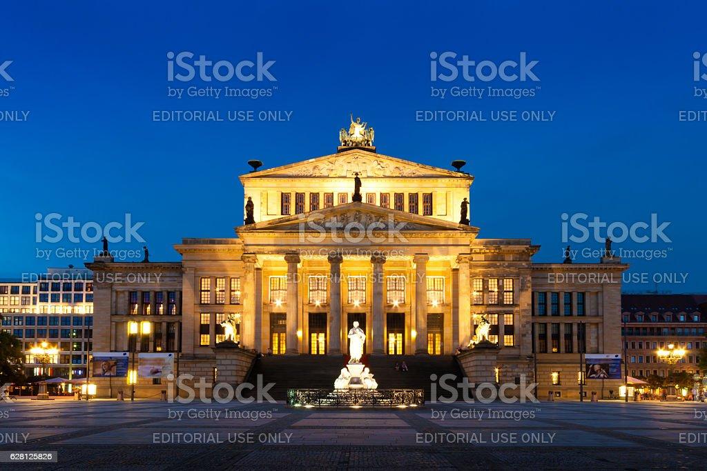 Konzerthaus in Gendarmenmarkt, a famous square in Berlin, German stock photo