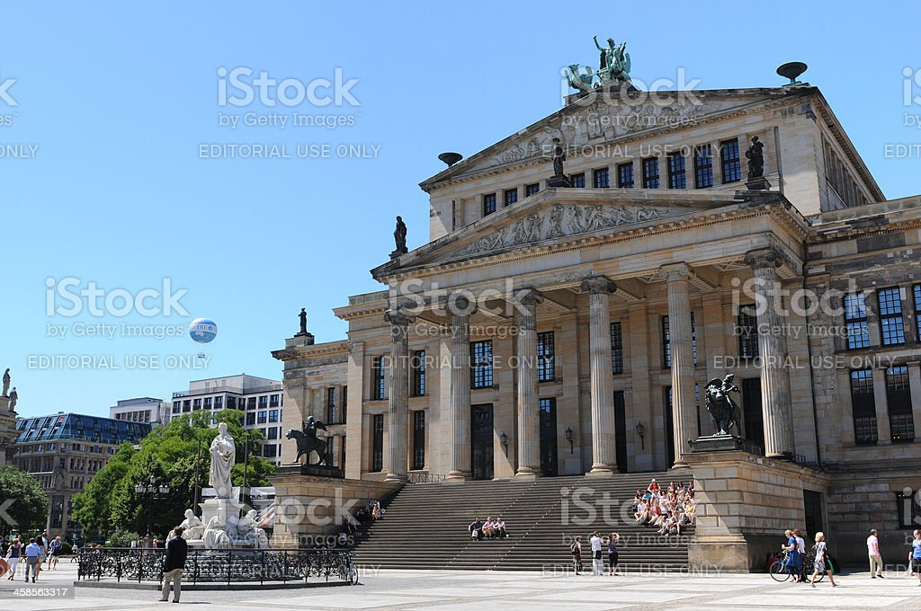 Konzerthaus once called Schauspielhaus (Gendarmenmarkt) Berlin Germany stock photo