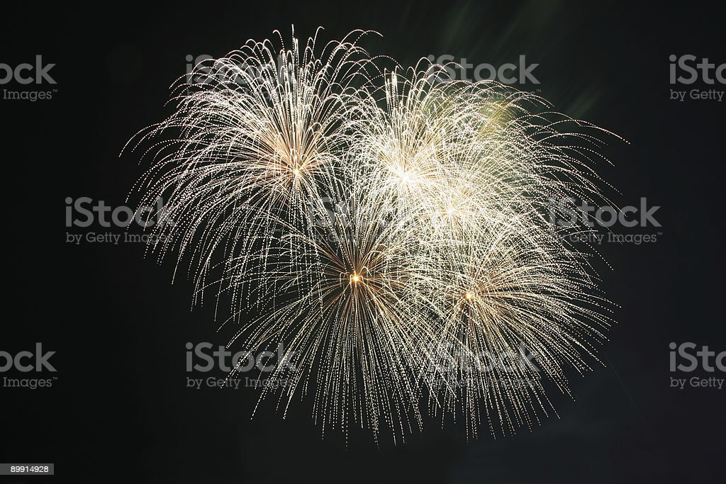 Palla Fuochi d'artificio koosh foto stock royalty-free