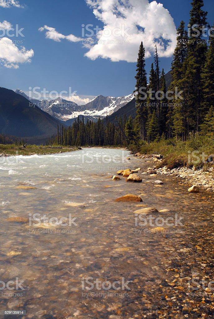 Kootenay National Park - British Columbia - Canada stock photo