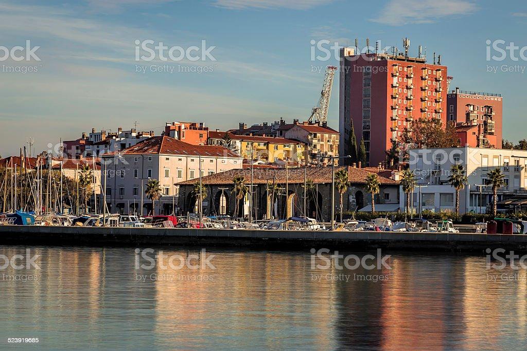 Koper Town stock photo
