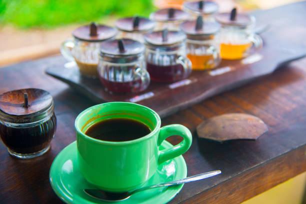 kopi luwak, el café más caro del mundo - gato civeta fotografías e imágenes de stock