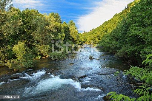 Korana river-Rastoke-Croatia