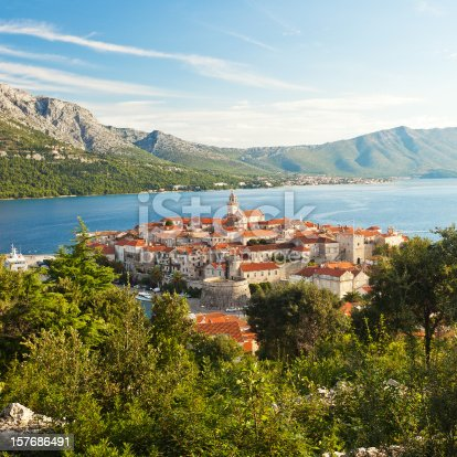 Famous Town Of Korcula, Croatia