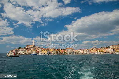 Korcula, Old Town, harbor at the seafront, Croatia