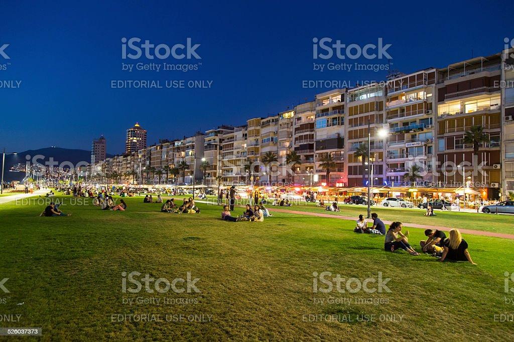 Kordon, Izmir stock photo