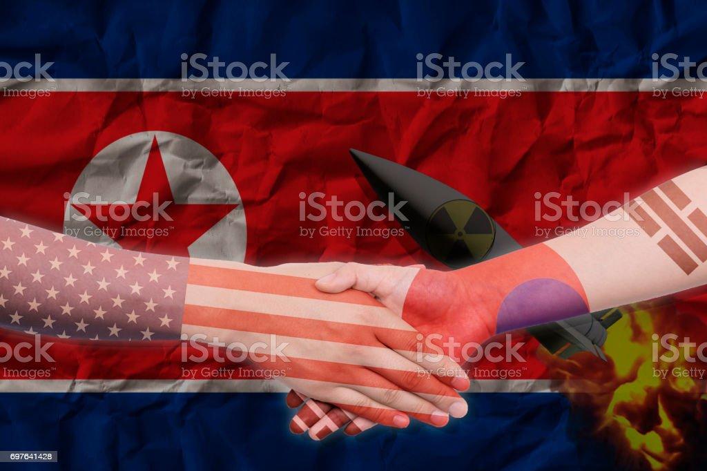 Korea und USA Allianz – Foto