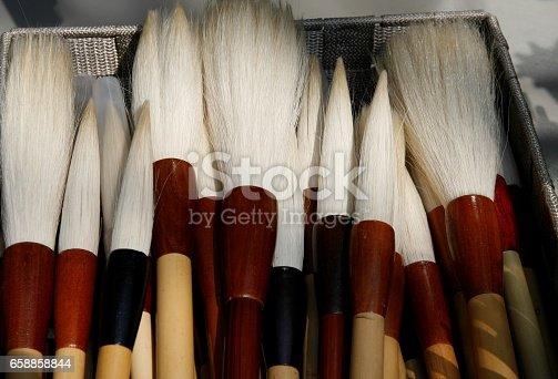 istock korea calligraphie brushes 658858844