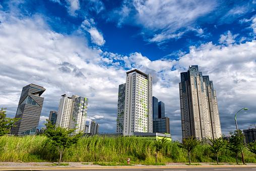 Korea cityscape