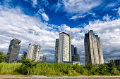 Cityscape of Songdo International City