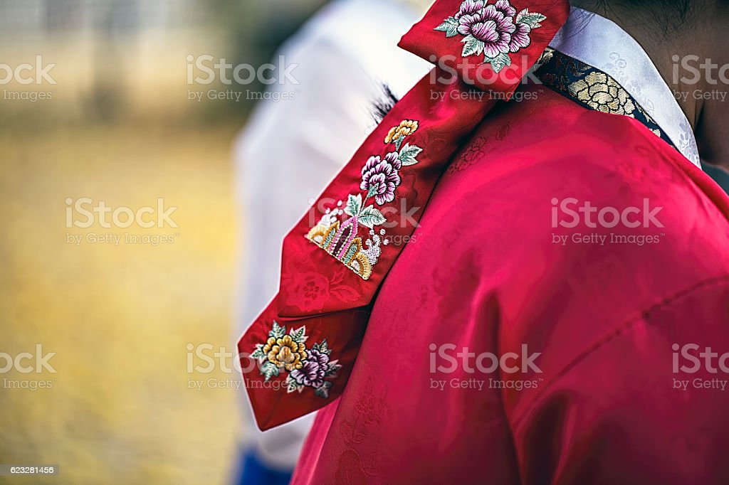 korea dress stock photo