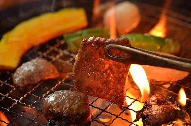韓国焼肉バーベキュー - 韓国文化 ストックフォトと画像