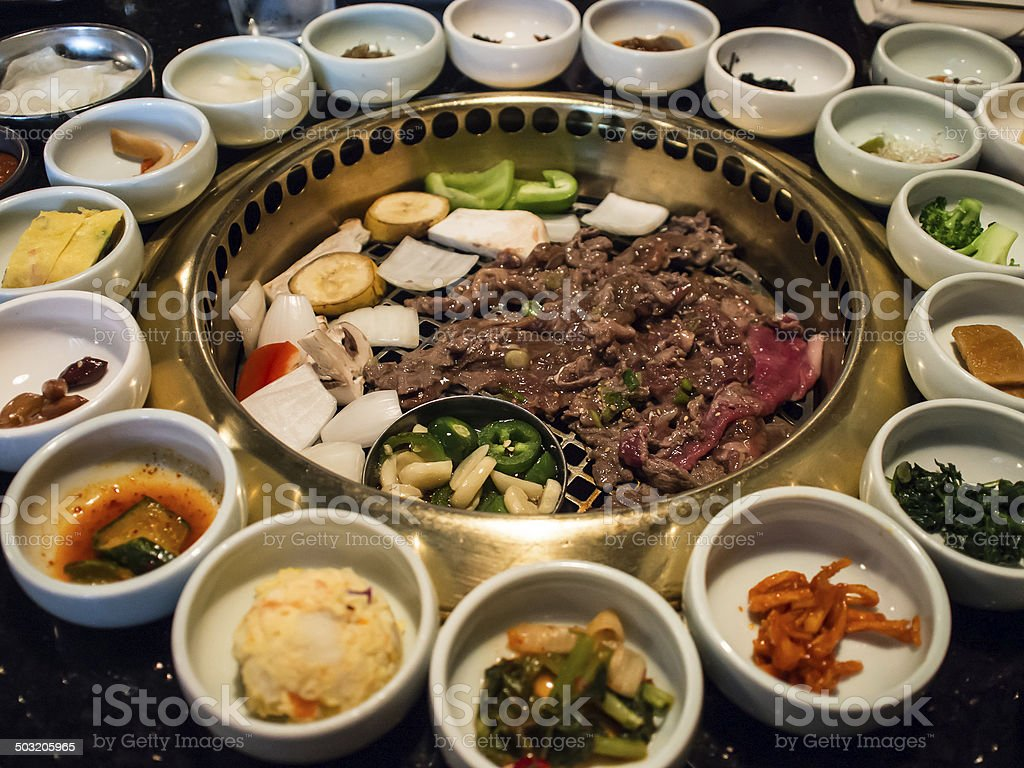 Korean BBQ stock photo