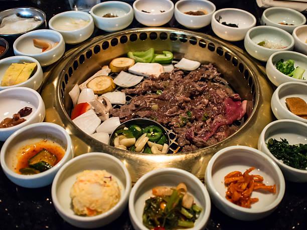 韓国バーベキュー - 韓国文化 ストックフォトと画像