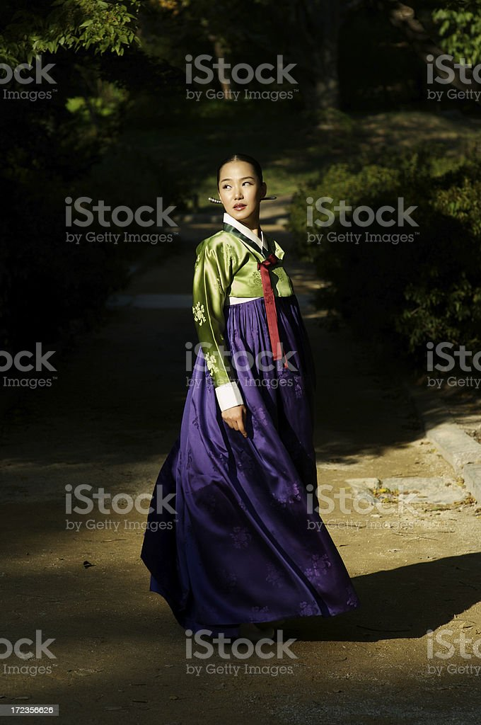 Korean beauty stock photo